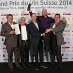 Les résultats du Grand Prix du Vin Suisse 2014